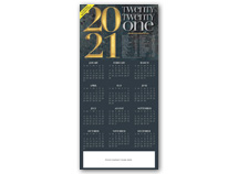 2019 Wishes Calendar Cards