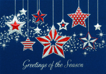 Simply Spangled Patriotic Holiday Cards