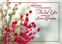 Tidings of Appreciation Holiday Cards