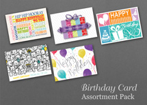 Value Set of 50 Birthday Cards